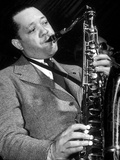 Jazz Saxophonist Lester Young (1909-1959) C 1953