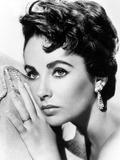 American Actress Liz Taylor C 1954