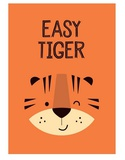 Easy Tiger - Wink Designs Contemporary Print