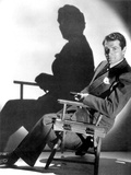 English Actor Laurence Olivier (1907-1989) Seated on a Chair's Director C 1939