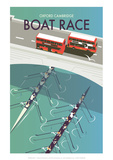Boat Race - Dave Thompson Contemporary Travel Print