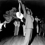 Couple Dancing at Savoy Ballroom  Harlem  1947