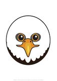 Eagle - Animaru Cartoon Animal Print
