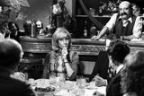 "Daniele Gilbert During the Recording of the Tv Programme ""Samedi Soir"" 1973"