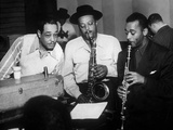 Duke Ellington with Ben Webster and Jimmy Hamilton at Carnegie Hall  1948