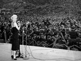 "Marilyn Monroe Named ""Member of Honour of the 25E Division"" on February 16-19  1954"