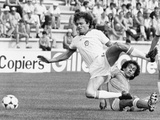 Football World Cup 1982 in Spain: France Team Vs Czechoslovakia Team