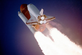 Space Shuttle Atlantis Takes Flight on its Sts-27 Mission on December 2  1988  9:30 AM EST