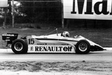 Grand Prix of Belgium May 9  1982 : Alain Prost Driving a Renault