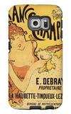Champagne  France - E Debray Champagne Advertisement Poster