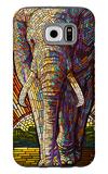Elephant - Paper Mosaic