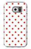Red Polk-a-dots