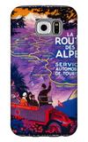 La Route Des Alpes Vintage Poster - Europe