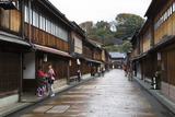 Wooden Houses  Higashi Chaya District (Geisha District)  Kanazawa
