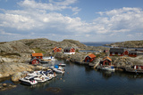 Timber Houses  Vaderoarna (The Weather Islands) Archipelago  Bohuslan Region  West Coast  Sweden
