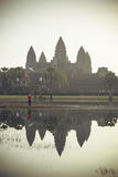 Angkor Wat Temple  Angkor  UNESCO World Heritage Site  Cambodia  Indochina  Southeast Asia  Asia