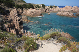 The Sea at Costa Paradiso  Sardinia  Italy  Mediterranean
