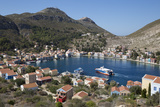 View of Harbour  Kastellorizo (Meis)  Dodecanese  Greek Islands  Greece  Europe