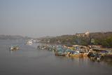 Fishing Harbour at Panjim  Goa  India  Asia