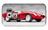 1957 Ferrari Testarossa Watercolor
