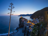 Vernazza  Cinque Terre  UNESCO World Heritage Site  Liguria  Italy  Europe