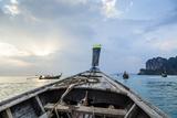 Longtail Boat  Railay Beach  Krabi  Thailand  Southeast Asia  Asia