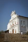Capello Do Monte (Mount Mary Church)  Old Goa  UNESCO World Heritage Site  Goa  India  Asia