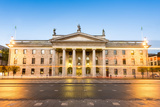 General Post Office Building at Dusk  Dublin  County Dublin  Republic of Ireland  Europe