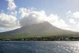 Mount Nevis  St Kitts and Nevis  Leeward Islands  West Indies  Caribbean  Central America