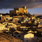 Renaissance Castle and Town  Velez Blanco  Almeria  Andalucia  Spain