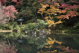 Autumn Colours Reflected in Hisagoike Pond