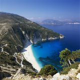 Myrtos Beach  North-West Coast  Kefalonia  Ionian Islands  Greek Islands  Greece