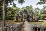 Ruins of the Chau Say Tevoda Temple  Angkor  UNESCO World Heritage Site  Cambodia  Indochina