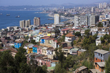 Aerial View  Valparaiso  Chile
