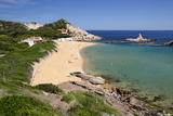 Cala Pregonda  Near Fornells  North Coast  Menorca  Balearic Islands  Spain  Mediterranean