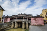 Japanese Covered Bridge  UNESCO World Heritage Site  Hoi An  Vietnam  Indochina
