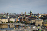 Skyline of Stockholm  Sweden  Scandinavia  Europe