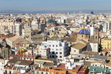 Skyline View of Valencia  Spain