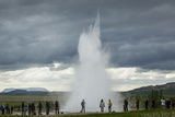 Strokkur Geyser  Geysir  Golden Circle  Iceland  Polar Regions
