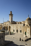 Temple Mount  UNESCO World Heritage Site  Jerusalem  Israel  Middle East