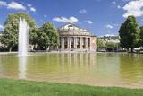 Opera House  Eckensee Lake  Schlosspark  Stuttgart  Baden-Wurttemberg  Germany