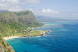Beach at Waimanalo Bay  Windward Coast  Oahu  Hawaii  United States of America  Pacific