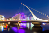 Samuel Beckett Bridge and the Convention Centre Dublin