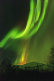 Aurora Borealis (Northern Lights) on Kungsleden (Kings Trail)
