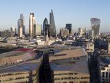 City Skyline from St Pauls  London  England  United Kingdom