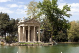 Ionic Temple of Aesculapius  God of Healing  Designed by Antonio Asprucci