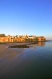 Oudaia Kasbah and Coastline  Rabat  Morocco  North Africa  Africa