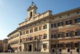 Palazzo Montecitorio  Parliament Building  Rome  Lazio  Italy