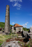 Derelict Old Sugar Mill  Nevis  St Kitts and Nevis