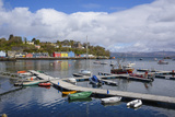 Tobermory Harbour  Isle of Mull  Inner Hebrides  Argyll and Bute  Scotland  United Kingdom